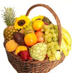 Cesta de frutas tropical (CE109)