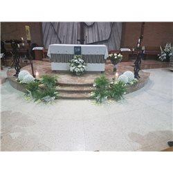 Decoración de iglesias bodas BI - 008