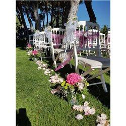 Decoración de exteriores bodas BE - 008