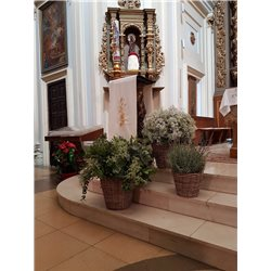 Decoración de iglesias bodas BI - 009