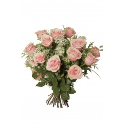 Ramo de rosas rosa (F168)