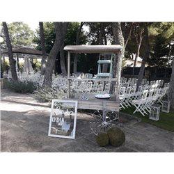 Decoracion de exteriores bodas BE-0003