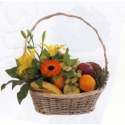 Cesta de frutas ovalada (CE108)