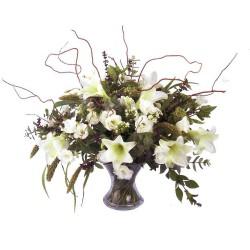 Jarrón de flores Cibeles (F131)