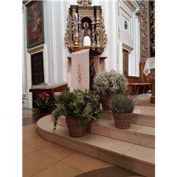 Decoración de iglesias bodas BI - 010
