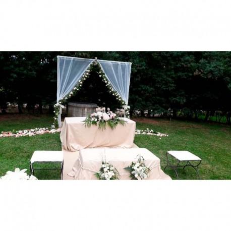 Decoración de iglesias bodas BI - 015
