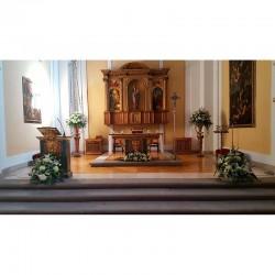 Decoración de iglesias bodas BI - 018