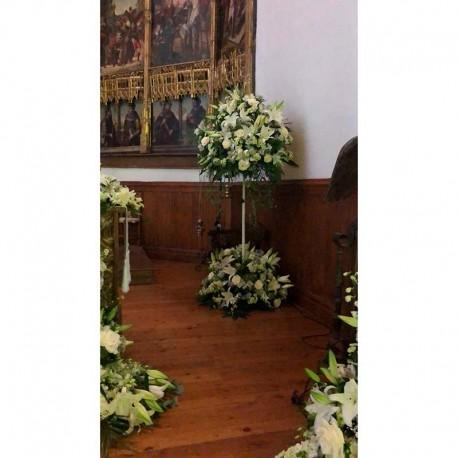 Decoración de iglesias bodas BI - 020