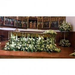 Decoración de iglesias bodas BI - 021