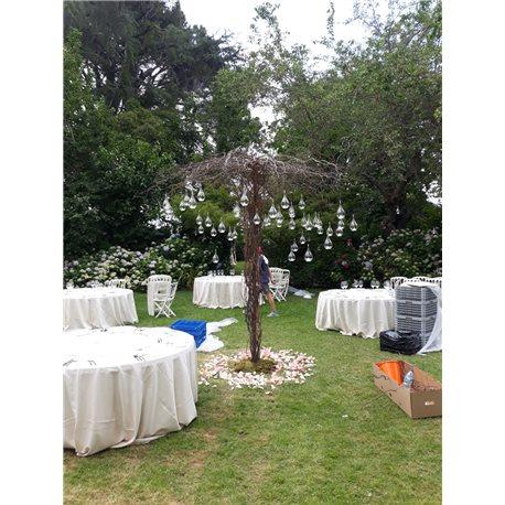 Decoración de exteriores bodas BE - 012