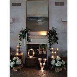 Decoración de exteriores bodas BE - 015