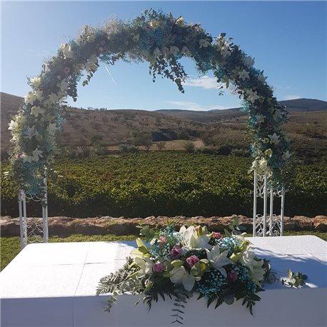 Decoración de exteriores bodas BE - 018