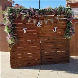 Decoración de exteriores bodas BE - 019