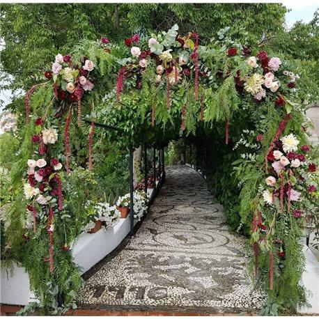 Decoración de exteriores bodas BE - 020