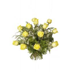 Ramo de rosas amarillas (F119)