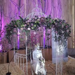 Decoración de exteriores bodas BE - 023