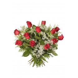 Ramo de rosas rojas de 80cm (F127)