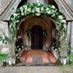 Decoración de exteriores bodas BE - 029