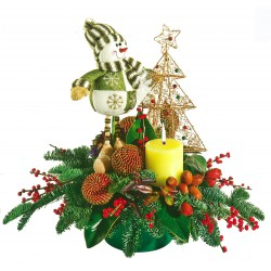 Centro navideño fantasía (CN05)