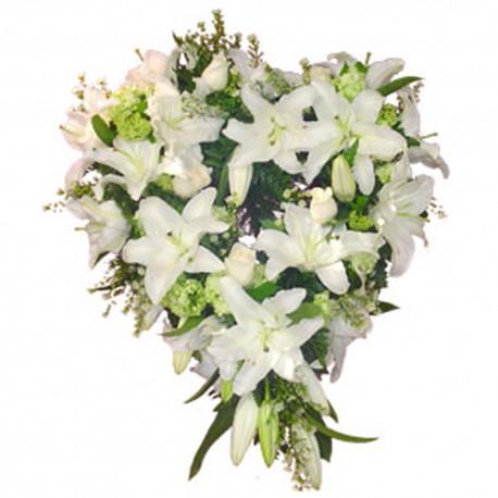 Corazón de flores (CO107)
