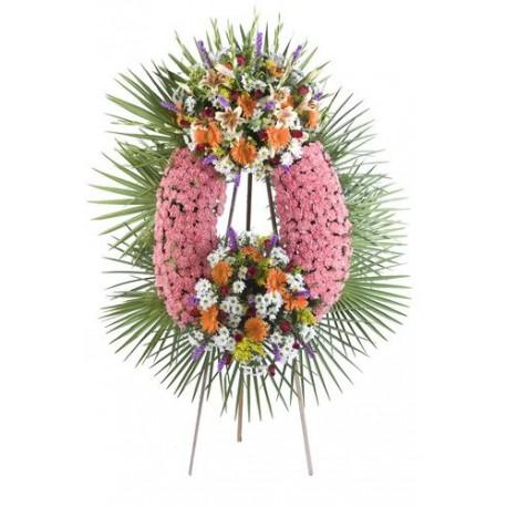 Corona de flores sentimiento (CO115)