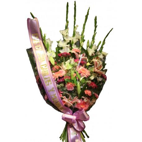 Ramo funerario rosa (CO128)
