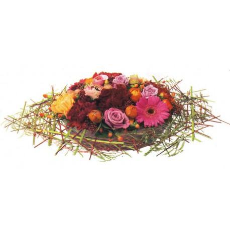 Centro de flores nido (F139)