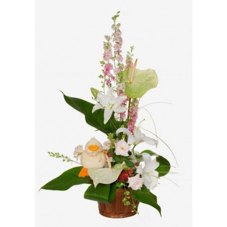 Centro de flores vertical (F144)