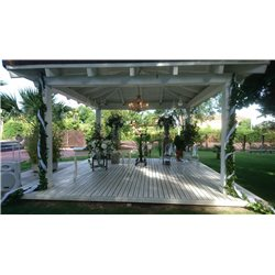 Decoracion de exteriores bodas BE-0002